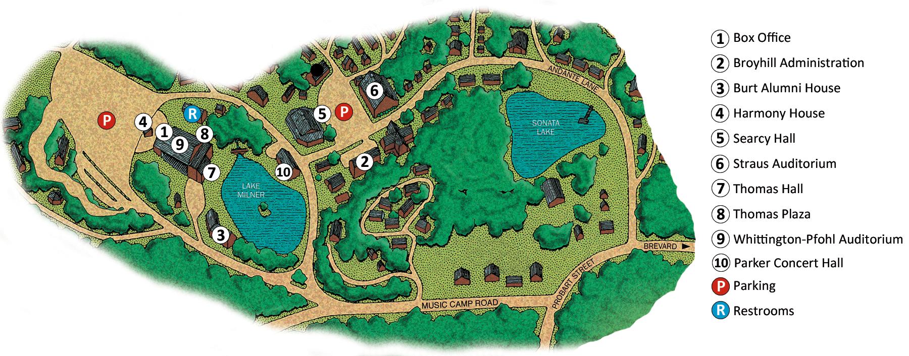BMC Campus Map